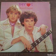 Discos de vinilo: PECOS UN PAR DE CORAZONES DISCO VINILO LP ESPAÑA. Lote 174884243