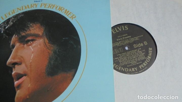 Discos de vinilo: ELVIS PRESLEY - A LEGENDARY PERFORMER VOL.2 - RCA CPL1-1349 STEREO LP. EDITADO EN USA, 1976. - Foto 3 - 174576585