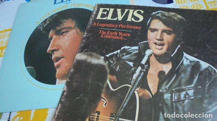Discos de vinilo: ELVIS PRESLEY - A LEGENDARY PERFORMER VOL.2 - RCA CPL1-1349 STEREO LP. EDITADO EN USA, 1976. - Foto 4 - 174576585