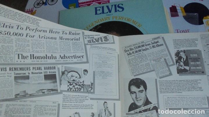 Discos de vinilo: ELVIS PRESLEY - A LEGENDARY PERFORMER VOL.2 - RCA CPL1-1349 STEREO LP. EDITADO EN USA, 1976. - Foto 5 - 174576585