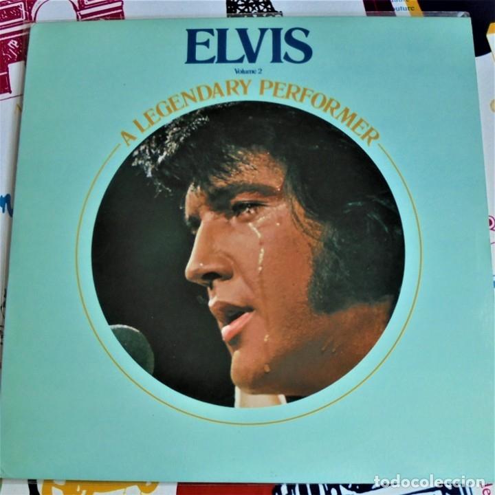 ELVIS PRESLEY - A LEGENDARY PERFORMER VOL.2 - RCA CPL1-1349 STEREO LP. EDITADO EN USA, 1976. (Música - Discos - LP Vinilo - Rock & Roll)