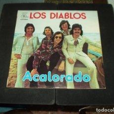 Discos de vinilo: DIABLOS LP ACALORADO. Lote 174894862