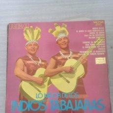 Discos de vinilo: LO MEJOR DE LOS INDIOS TABAJARA. Lote 174904788