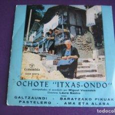Discos de vinilo: OCHOTE ITXAS-ONDO EP COLUMBIA 1963 - FOLK TRADICIONAL VASCO - EUSKADI - ACORDEON MIGUEL VICONDOS. Lote 174908612