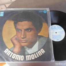 Discos de vinilo: ANTONIO MOLINA-LP SERIE AZUL. Lote 174910990