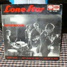 Discos de vinilo: LONE STAR - SATISFACCION, WOOLY BULLY, MUY LEJOS DE AQUI, AQUI EN MI NUBE, EMI 1965.. Lote 174913398