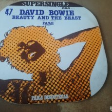 Discos de vinilo: DAVID BOWIE ‎- BEAUTY AND THE BEST. MAXI. SUPERSINGLE 1978 - BUEN ESTADO. Lote 174922887