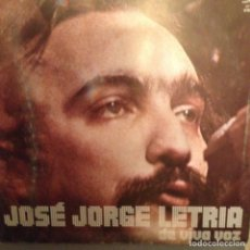 Discos de vinilo: JOSÉ JORGE LETRIA ?– DE VIVA VOZ GUILDA DA MÚSICA ?– DP 021 AÑO 1973 ED. PORTUGAL. Lote 174924542