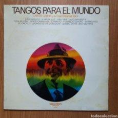 Discos de vinilo: CARLOS GARDEL Y SU ORQUESTA TIPICA. Lote 174927693