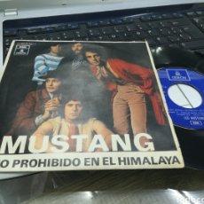 Discos de vinilo: LOS MUSTANG SINGLE REINO PROHIBIDO EN EL HIMALAYA 1970. Lote 174933483