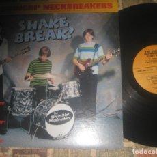 Discos de vinilo: THE SWINGIN NECKBREAKERS SHAKE BREAK (TELESTARS-1995) ORIGINAL USA LEA DESCRIPCION. Lote 174953418