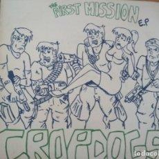 Discos de vinilo: CROPDOGS THE FIRST MISSION E.P INSERTO. Lote 174954042