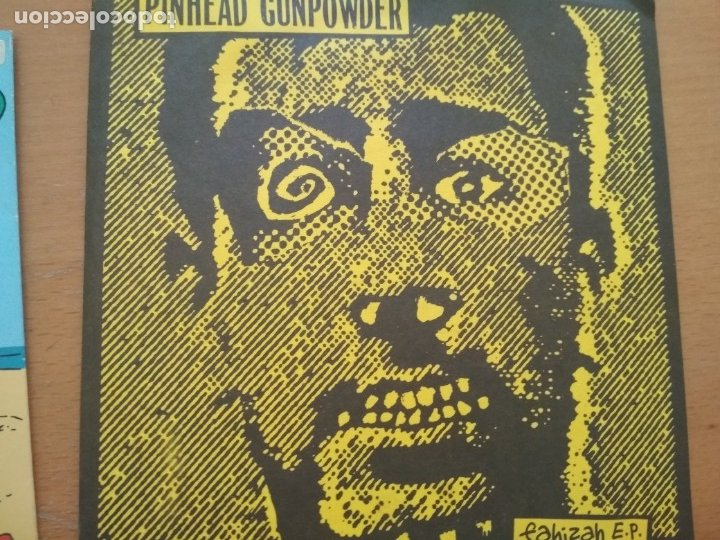 PINHEAD GUNPOWDER FAHIZAH E.P. EP INSERTO (Música - Discos de Vinilo - EPs - Punk - Hard Core)