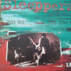 Discos de vinilo: SLEEPPERS LIVE VINILO DIEZ PULTFADAS 33RPM, EP, LIMITED EDITION FRANCE 1999 CON INSERTO . Lote 174954794