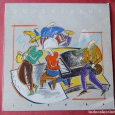 Discos de vinilo: SUPERTRAMP - LIVE 88 - LP. Lote 174956212