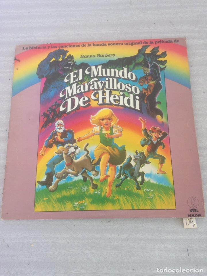 EL MUNDO MARAVILLOSO DE HEIDI (Música - Discos - LPs Vinilo - Música Infantil)