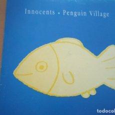 Discos de vinilo: INNOCENTS PENGUIN VILLAGE INNOCENTS / PENGUIN VILLAGE LP INSERTO. Lote 174962617