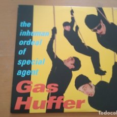 Dischi in vinile: GAS HUFFER THE INHUMAN ORDEAL OF SPECIAL AGENT GAS HUFFER LP INCLUYE COMIC. Lote 174962834