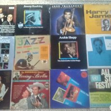 Discos de vinilo: LOTE DE 30 LPS JAZZ MUY BUEN ESTADO WILTON FELDER ACKER BILK DORSEY KID ORY AL GOODMAN TEAGARDEN. Lote 174967262