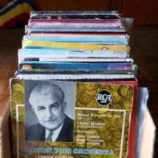 Discos de vinilo: LOTE DE 30 EPS Y SINGLES DE ORQUESTAS Y CLASICA -. Lote 174968477