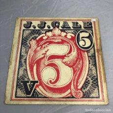 Discos de vinilo: DISCO VINILO LP, J.J. CALE 5. THIRTEEN DAYS.. Lote 174968532
