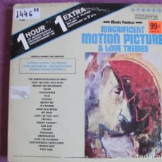 Discos de vinilo: LP - MAGNIFICENT MOTION PICTURE AND LOVE THEMES - VARIOS (USA, TIME RECORDS SIN FECHA). Lote 174968889