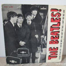 Discos de vinilo: THE BEATLES!. PLEASE PLEASE ME. ASK ME WHY. YOU CAN´T DO THAT. CAN´T BY ME LOVE. SINGLE VINILO. 1964. Lote 174969567