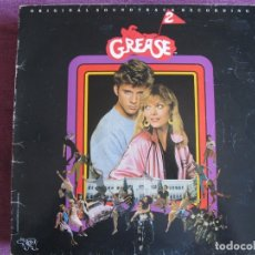 Discos de vinilo: LP - GREASE 2 - BANDA SONORA ORIGINAL (SPAIN, RSO RECORDS 1982, PORTADA DOBLE). Lote 174970145