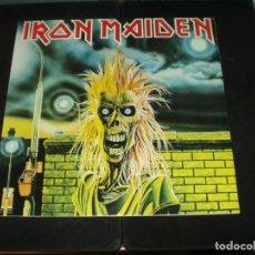 Disques de vinyle: IRON MAIDEN LP SAME. Lote 174970219