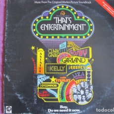 Discos de vinilo: LP - THAT'S ENTERTAINMENT - VARIOS (DOBLE DISCO, ENGLAND, MGM RECORDS 1974). Lote 174972384