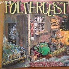 Discos de vinilo: POLTERGEIST DEPRESSION LP INSERTO 1989. Lote 174974972