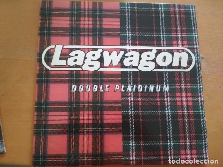 LAGWAGON DOUBLE PLAIDINUM LP INSERTO 1997 (Música - Discos - LP Vinilo - Punk - Hard Core)