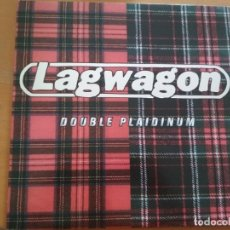 Discos de vinilo: LAGWAGON DOUBLE PLAIDINUM LP INSERTO 1997. Lote 174975158