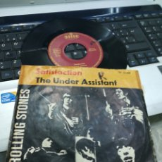 Discos de vinilo: ROLLING STONES SINGLE SATISFACTION / THE UNDER ASSISTANT ALEMANIA 1965. Lote 174983332