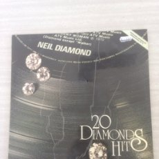 Discos de vinilo: NEIL DIAMOND. 20 DIAMONDS HITS.. Lote 174989685