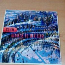 Discos de vinilo: CLAY - WHERE IS MY LIFE - BUEN ESTADO - VER FOTOS. Lote 174989750