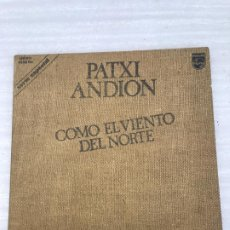 Discos de vinilo: PATXI ANDION. Lote 175010079
