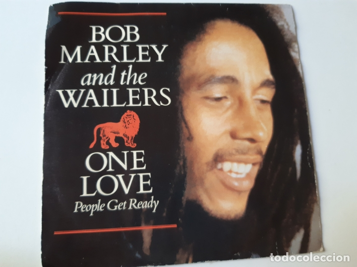 BOB MARLEY- ONE LOVE- SPAIN PROMO SINGLE 1984- VINILO COMO NUEVO. (Música - Discos - Singles Vinilo - Reggae - Ska)