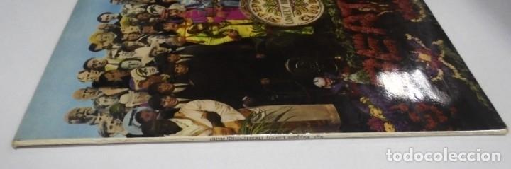 Discos de vinilo: LP. THE BEATLES. SGT. PEPPERS CLUB BAND. LONELY HEARTS. 1967. CONTIENE ENCARTE. INGLATERRA - Foto 2 - 173728290