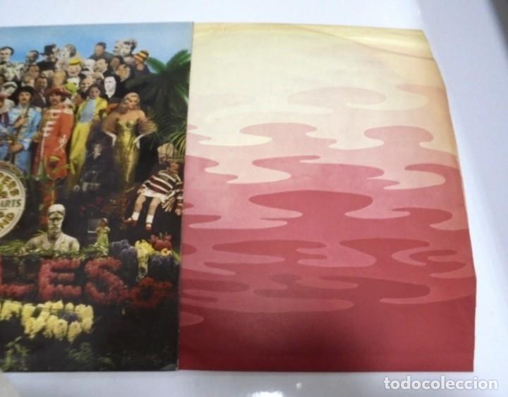 Discos de vinilo: LP. THE BEATLES. SGT. PEPPERS CLUB BAND. LONELY HEARTS. 1967. CONTIENE ENCARTE. INGLATERRA - Foto 6 - 173728290
