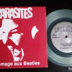 Discos de vinilo: EP 7'' PARASITES – EN HOMAGE AUX BEATLES ED. LIMITADA. Lote 175016619
