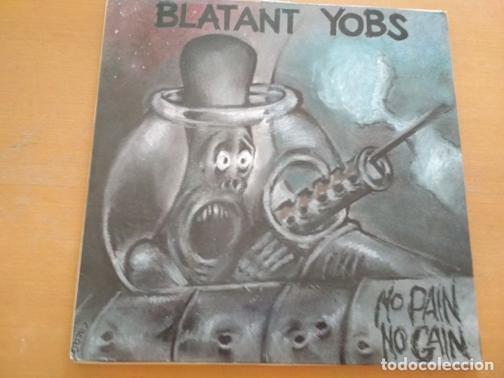 BLATANT YOBS NO PAIN NO GAIN LP (Música - Discos - LP Vinilo - Punk - Hard Core)
