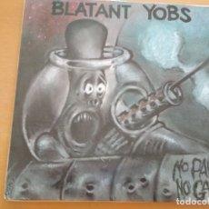 Discos de vinilo: BLATANT YOBS NO PAIN NO GAIN LP. Lote 175017180