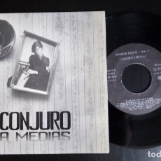 Discos de vinilo: EP 7'' GLUTAMATO YE-YE, LA BANDA DEL OTRO LADO – RAMÓN RECIO - VOL. 1 CONJURO A MEDIAS. Lote 175020203