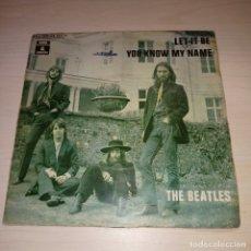 Discos de vinilo: THE BEATLES, LET IT BE. Lote 175025848