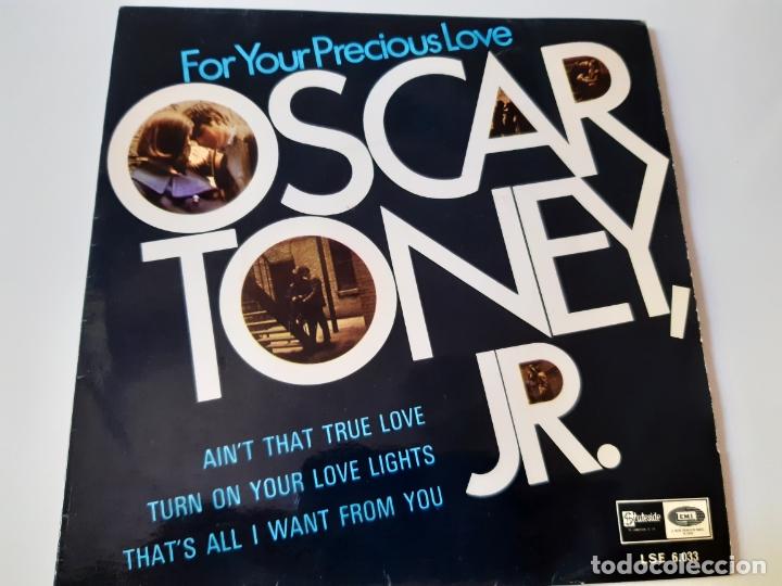 OSCAR TONEY JR.- FOR YOUR PRECIOUS LOVE - SPAIN 1966. (Música - Discos de Vinilo - EPs - Funk, Soul y Black Music)