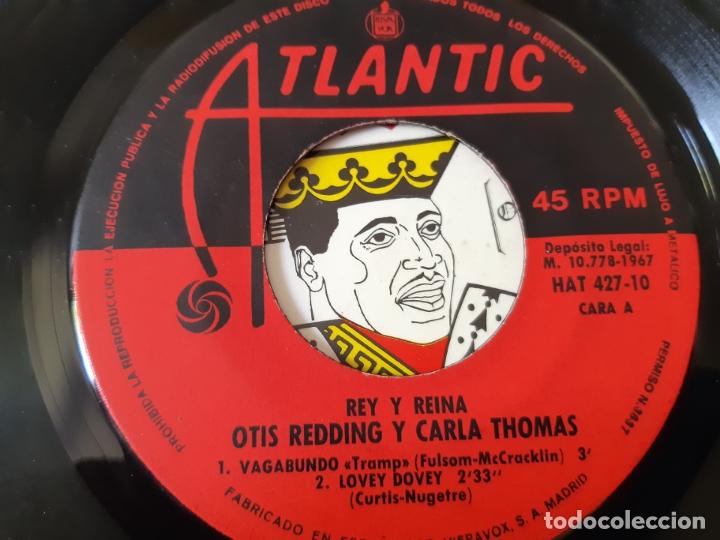 Discos de vinilo: OTIS REDDING- CARLA THOMAS- VAGABUNDO - SPAIN EP 1967. - Foto 3 - 175027625