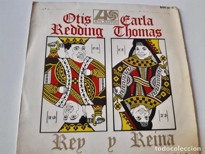 OTIS REDDING- CARLA THOMAS- VAGABUNDO - SPAIN EP 1967. (Música - Discos de Vinilo - EPs - Funk, Soul y Black Music)