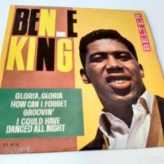 Discos de vinilo: BEN E KING GLORIA - SPAIN EP 1964- VINILO COMO NUEVO.. Lote 175027882