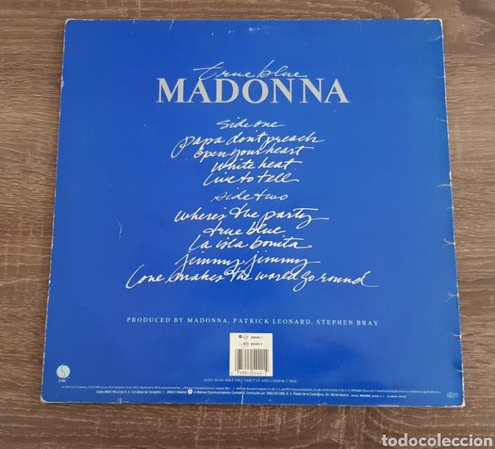 Discos de vinilo: MADONNA TRUE BLUE DISCO VINILO 1986 LP CON ENCARTE - Foto 2 - 175027988